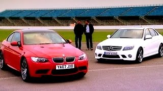 BMW M3 vs Mercedes Benz C63 AMG by Fifth Gear