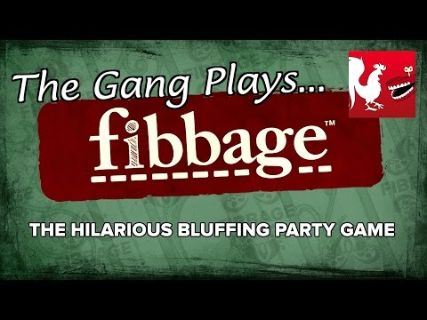 plays - Join Arryn, Barbara, Dfabulous, Laggie, Mystery, Not Gus, Ryan, and Waffleiron for a couple games of Fibbage during the Rooster Teeth Extra Life stream! RT Store: http://bit.ly/1vduQ60 Rooster...