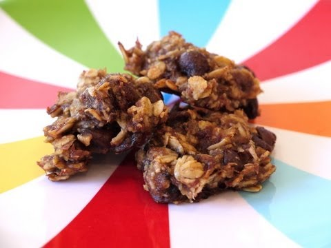 Healthy Snack Recipes for Kids: How to Make Oatmeal Banana Chocolate Chip Cookies – Weelicious