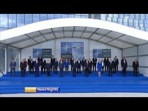 President Trump Challenges NATO Allies at Summit - ENN 2018-07-11