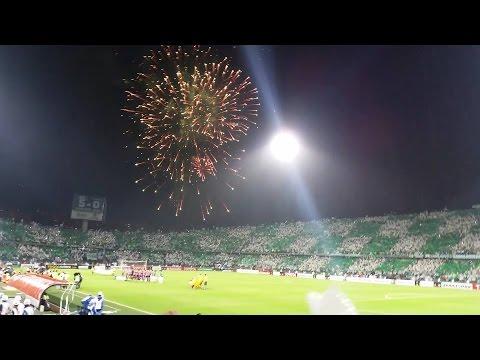 Atletico Nacional 2 vs Sao Paulo 1/ Semifinal de Copa Libertadores / 13 de Julio 2016 / Cánticos LD - Los del Sur - Atlético Nacional