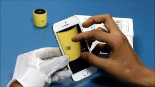 Unboxing: Apple iPhone 5S 16GB in GoldThis video is the e-demo, unboxing and initial configuration of iPhone 5S 16GB model. It includes demos of slo-motion video, burst photo mode, finger print setup, touch ID. For any issues or queries, please call us at: 011-6648 9200 or email us anytime: support@greendust.com