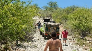 Kunene Namibia  City pictures : Namibia 4x4 - D 3700 along Kunene River is not for Trailers