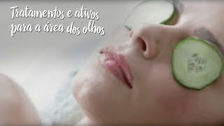 Tratamentos e ativos para a área dos olhos