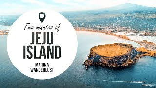 Jeju Island South Korea  city photo : Korea Jeju Island Attractions | Travel Guide in 2 Minutes | Map Inside Video