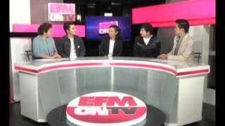 EFM On TV 9 October 2013 - Thai Talk Show