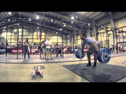 CrossFit Games Regionals 2012 - Rich Froning Snatch Ladder