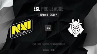 Na`Vi vs G2 - ESL Pro League Season 9 EU - map2 - de_train [PCH3LK1N & CrystalMay]