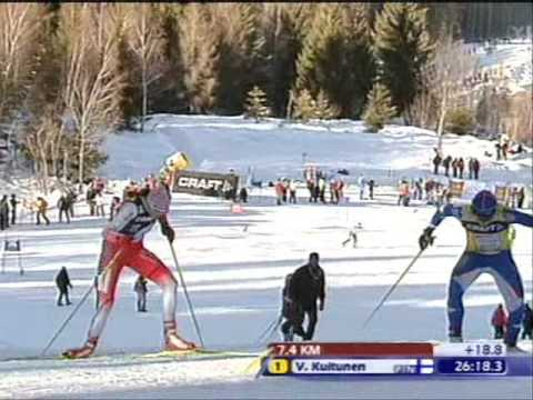 Tour de Ski - Stage 7 final race, ladies 9km.