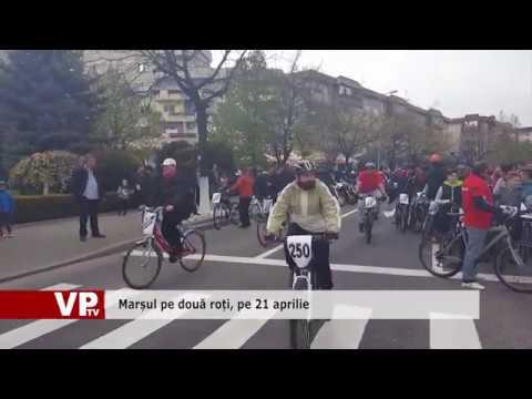 Marșul pe două roți, pe 21 aprilie