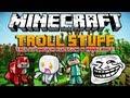Minecraft 1.8 Mody - Troll Stuff Mod - Troluj Swoich Kolegów w Minecraft! [Jak Trollować]
