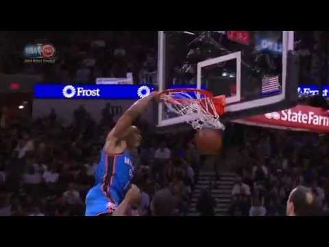Video: Russell Westbrook Throws Down the Tomahawk!