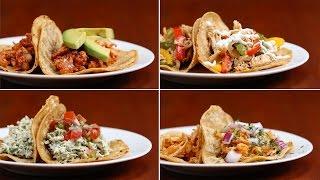 Chicken Tacos 4 Ways by Tasty