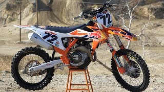 1. First Ride 2018 KTM 450SXF Factory Edition