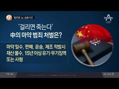 '필로폰 2g' 실종사건_채널A_뉴스TOP10