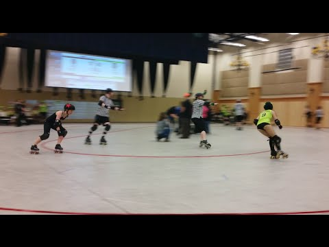 Apple City Roller Derby v Atomic City Roller Girls – 3/14/15 -1st half