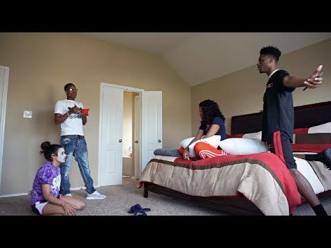 MOVING OUR FRIENDS IN THE HOUSE PRANK ON CARMEN AND COREY!!! (видео)
