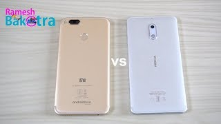 Video Xiaomi Mi A1 vs Nokia 6 Speed Test Comparison MP3, 3GP, MP4, WEBM, AVI, FLV November 2017
