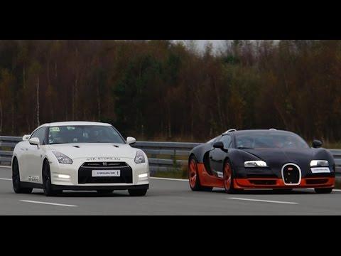 Nissan GTR Alpha 12 vs Bugatti Veyron