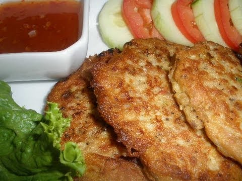 How to make tuna fish patties for How to make fish patties