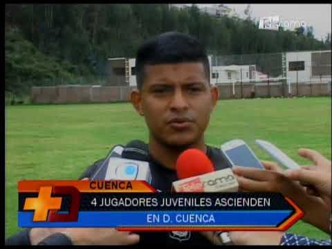 4 jugadores juveniles ascienden en Deportivo Cuenca