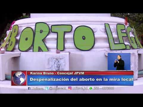 Concejales opinan sobre el aborto: Karina Bruno