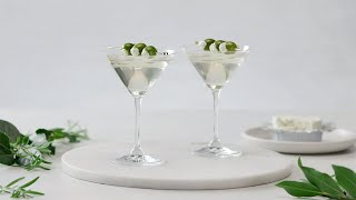 Let's Have a Toast! Dirty Martinis with Garlic & Fine Herbs Cheese by Tastemade