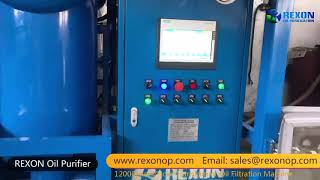 Weather-proof Type Transformer Oil Purifier Insulating Oil Filtration Machine youtube video