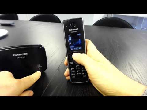 Panasonic TGP600 Setup