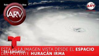Sorprendente video del avión que vuela directo al ojo del huracán Irma | Al Rojo Vivo