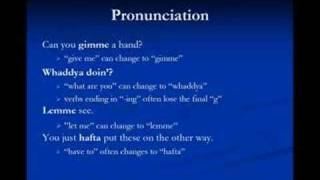 American Slang Lesson 4