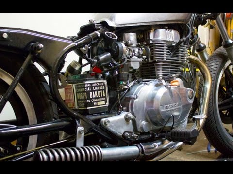 L.A. Nik Custom Bobber Motorcycle Project for Under $300