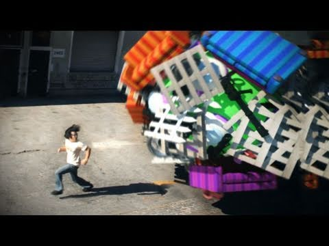 Man vs. Katamari (Freddie Wong)