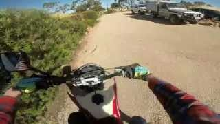1. Husqvarna WR 300 test ride