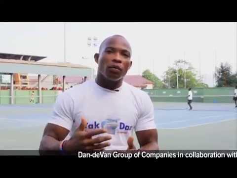 Ghana Paralympic wheelchair athlete Maclean Dzidzienyo endorses Dan-deVan National Paralympic Festival