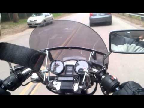 Honda Magna V30 (видео)