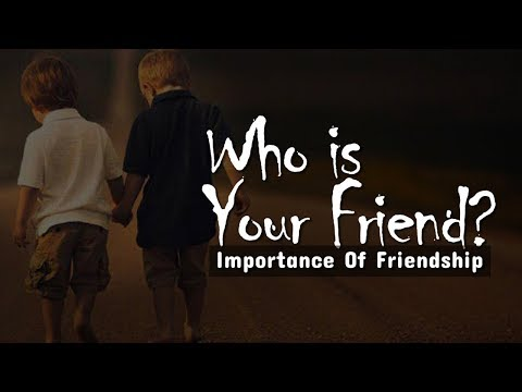 Quotes about friendship - Who Is Your Friend ?  Friendship Day Message  Joy Christians