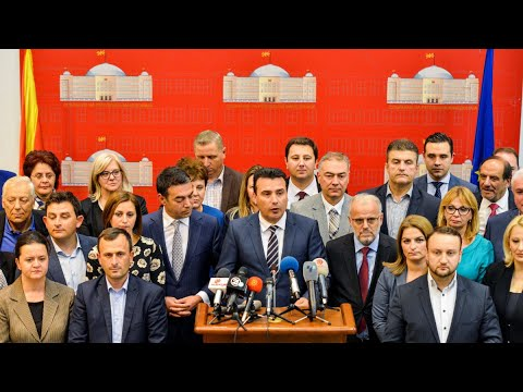 ΠΓΔΜ: Πέρασε από το κοινοβούλιο η πρόταση Ζάεφ για τις αλλαγές στο σύνταγμα…