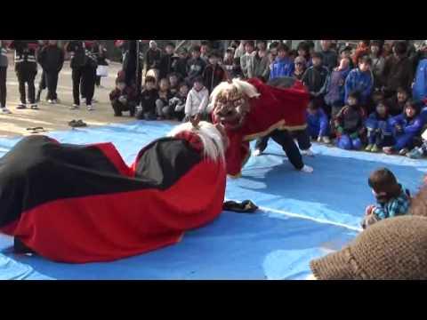牧石小学校とんど祭り 2012