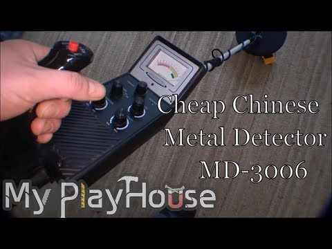 Playing with cheap Chinese metal detector MD-3006 - 115