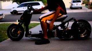 9. Honda Gy6 ruckus Start up