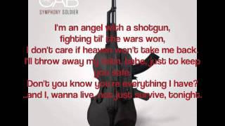The Cab - Angel With A Shotgun Chords