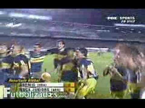 Video Juan Roman Riquelme campe�n Libertadores 2007