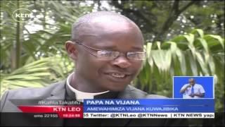 Papa Francis Atarajiwa Kukutana Na Vijana Katika Uwanja Wa Kasarani Nairobi