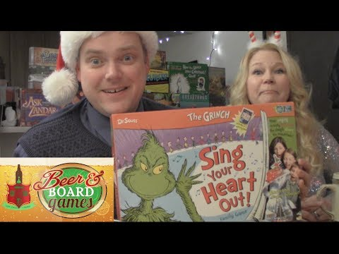 Drunk Christmas Grinch (Beer and Board Games)