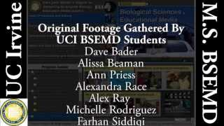 UC Irvine's New Master of Science Degree in Biological Sciences and Educational Media Design