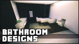 Minecraft - Bathroom Designs&Ideas
