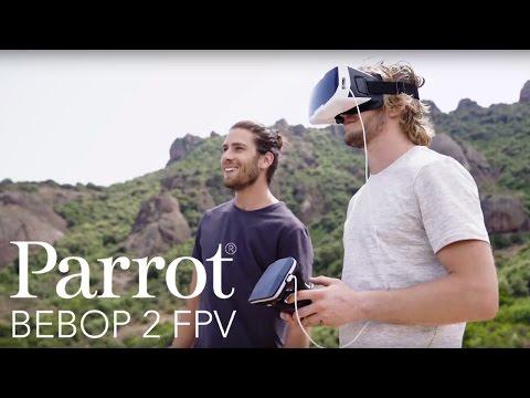 Dron PARROT Bebop 2 + Okulary FPV Biały