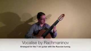 Vocalise by Rachmaninov