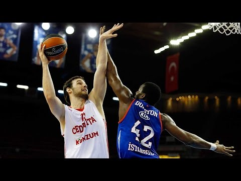 Highlights: RS Round 3, Anadolu Efes Istanbul 75-81 Cedevita Zagreb